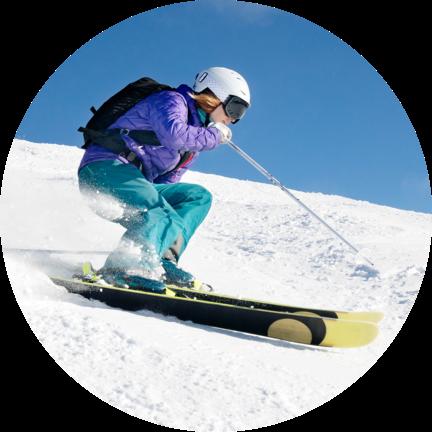 Imagen Esquiador - Rastreator.com