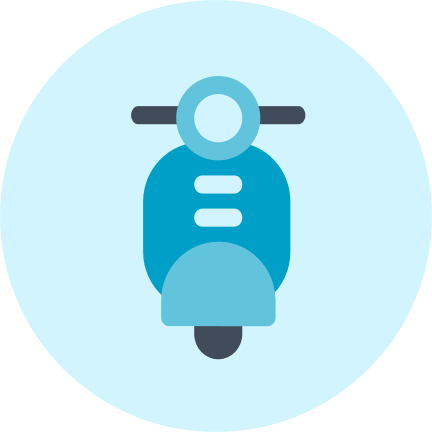 Logo Scooter - Rastreator.com