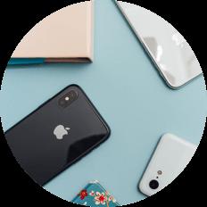 Comprar iPhone, Samsung y otros smartphones