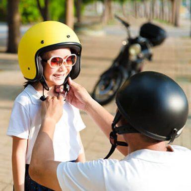 8 consejos para viajar con niños en moto
