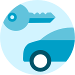 Alquiler de coches - Icono desktop