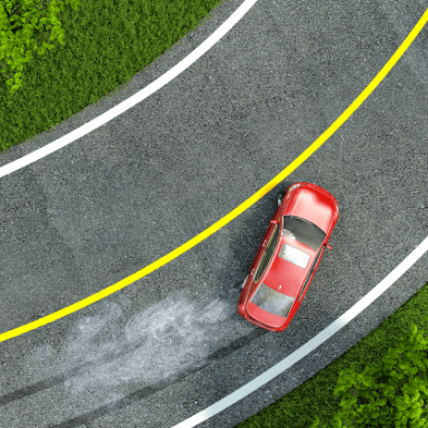 La distancia de frenado: qué es y de qué depende